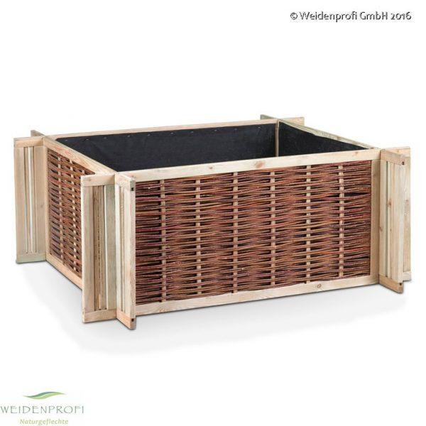 Deckel Doppelstegplatte für Hochbeet 120 x 80 x 60