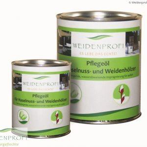 Holzöl, Pflegeöl für Naturzäune und Holzmöbel