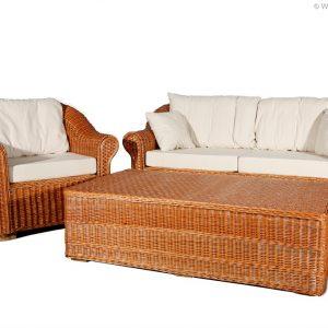 Weidenmöbel CLASSICO, Tisch, 133 x 73 x 39