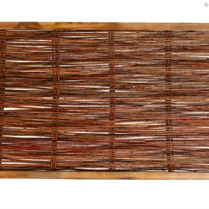 Weidenzaun CAMBO, waagrecht geflochten, 120 x 60