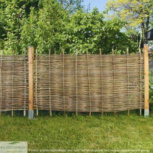 Gartenzaun Robinie BALDO Stabil, ohne Rahmen